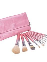 Beauty 10 Pcs Makeup Brush Set Tools Make-up Wool