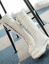 winble 2014 neue Mode Martin Stiefel hochhackige Schuhe (weiß) 13ba33