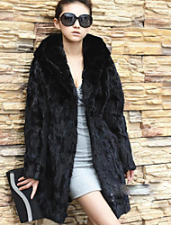 GY Women's Winter Warm Faux Fur Coat L095