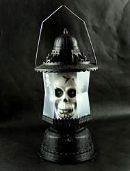 Handheld-Schädel-Muster Schreien Halloween-Geist-Lampe