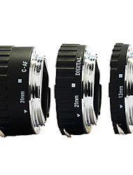 металлический байонет автофокусом Макрос Удлинитель для Canon 7D 5D Mark II III
