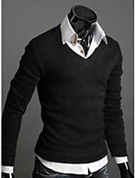 Pulls ( Coton/Polyester ) Informel Manches longues pour Homme