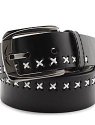 Unisex-Mode Dornschließe Gürtel Form Metall Schnalle Gürtel