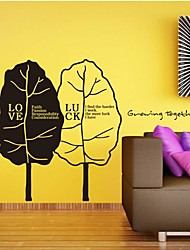 Wall Stickers Wall Decals,  Modern Grow up together PVC Wall Stickers