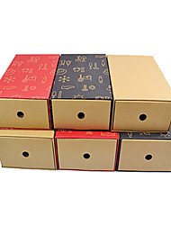 Kraftpaper Shoes Box for Storaging