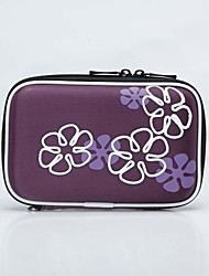 "Multifunctional Portable Protective EVA Zipper Case for 2.5"" HDD Assorted Colors"