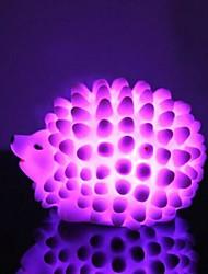 changement de couleur conduit hérisson de lumière en forme accessoires d'Halloween (couleur aléatoire)