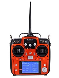 RadioLink AT10 3.5'' Screen 2.4GHz 10-CH Remote Control System w/ 10-CH Transmitter - Jacinth
