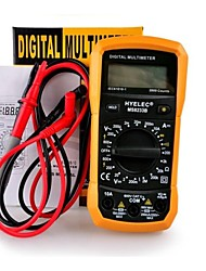 hyelec ms8233b multifunctionele mini digitale multimeter / achterlicht