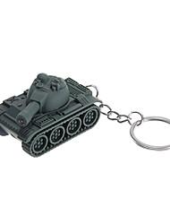 levendige groene tank vorm sleutelhanger speelgoed