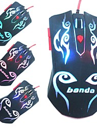 New Arrival Banda V101 Optical Mouse 6 Button LED Optical USB Wired Gaming Mouse  Computer Mouse