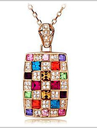 May Polly  Colorful Austria crystal crystal temperament sweater chain