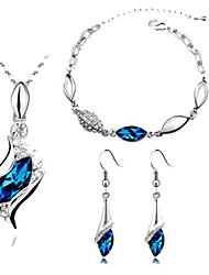 Ysk The Elegant Fashion Boutique Jewelry Suit Necklace Bracelet Earrings Accessories115
