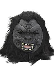 SYVIO alto grado chimpancé látex / cabeza orangután de halloween máscara del slip-on