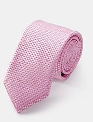 розовый проверил галстук
