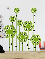 Wall Stickers Wall Decals,  Modern Falling flower seeds PVC Wall Stickers