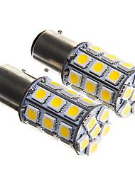 1157 Branco Quente 4W SMD 5050 3000-3500 Luz de Travão