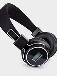 Co-crea SD-8803 Headphone 3.5mm Over Ear Volume Control with FM Radio Hi-Fi for Mobile Phone/PC