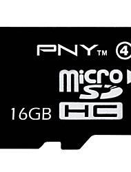 PNY класс 16gb 4 MicroSDHC карты памяти TF
