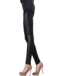 Michaela Women's High Waist Crop Tight Pants