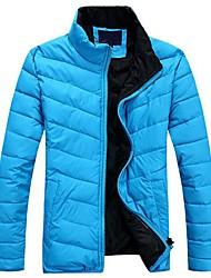 personnalisé confortable branché de meroketty®men adapter manteau à glissière rembourrée épaisse