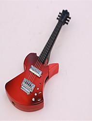 adultos de guitarra de metal encendedores juguetes negro y rojo