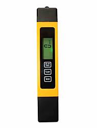 3 em 1 tds portáteis verificador da qualidade da água de condutividade de água digital pen test e termômetro