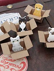PICCOLE NOTE cartone animali giocattolo scrapbooking autoadesive (colore casuale)