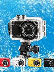 M200 Waterproof 720P 1.3 MP CMOS Action Sports Camera / Car DVR w/ TF/ Mini USB