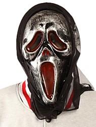 schreien Schädel Latex Kopfmaske für Halloween-Party (1 PC)