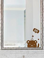 Cartoon The little bear Bathroom Stickers