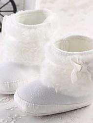 botas niñas zapatos de nieve botines talón plano con bowknot más colores disponibles