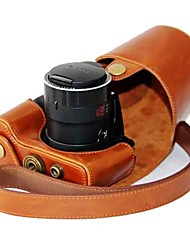 Dengpin® Leather Detachable Protective Camera Case with Shoulder Strap for Canon PowerShot SX510 HS