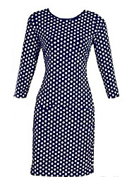 TYT Women's Polka Dots Print  dress
