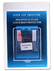 protector profesional de la pantalla LCD de cristal óptico especial para la cámara réflex digital Nikon D3X