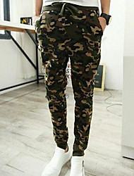 Men's Casual Camouflage Feet Haroun Pants