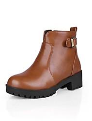 botines zapatos de moda de tacón grueso de las mujeres más colores disponibles