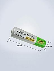 dp 2400mah 18650 batería recargable (1pcs)