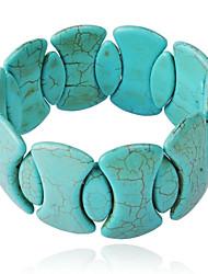 JANE STONE Women's Luxury Stylish Turquoise Funky Fashion Statement Bracelet