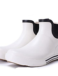 Women's Shoes Rain Flat Heel Rubber Ankle Boots More Colors available