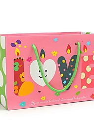 Coway 23*10*16 Christmas Gift Foundation LOVE Candle Party Paper Gift Bag