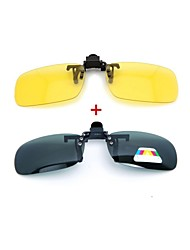 LEBOSH™Myopic Sunglass Clip Super Light Polarized Lens Combination of Day And Night Suit