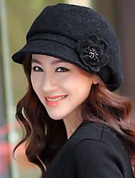 c&elegante hat_p046 quente tampa das mulheres