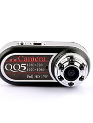 Mini 1080P FULL HD 12.0 MP CMOS 170 Degree Camera Photograph/Motion Detection w/ Night Vision/ 6-LED