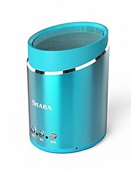 SHABA VS-16 Outdoor Portable Metal Bluetooth Audio Mini Subwoofer High-fidelity Stereo Speakers