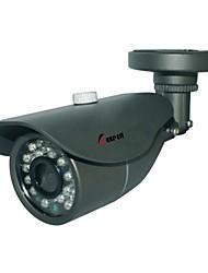 bala al aire libre a prueba de agua 1/3 CMOS 900tvl 24pcs IR LED de la cámara del cctv