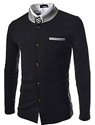 George Men's Foreign Trade Korean Slim Stand Collar Suit