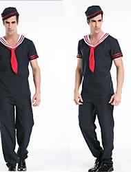 Blue Adult Halloween Male's Naval Uniform
