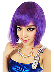 Cosplay Wigs Cosplay Festival/Holiday Halloween Costumes Purple / Brown / White / Blue Solid Wig Halloween / Carnival Female