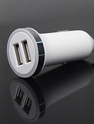5В / 2.1A Dual USB автомобильные зарядные устройства с CE, RoHS, FCC знаков для IPhone / IPad / Samsung / планшетных ПК